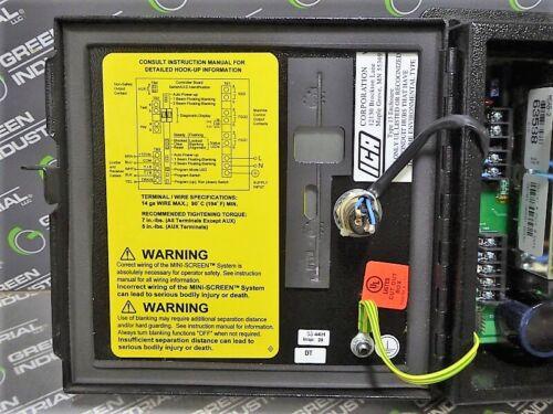 MSCD-2T3-69016 Mini-Screen Control Box USED Banner Engineering Corp