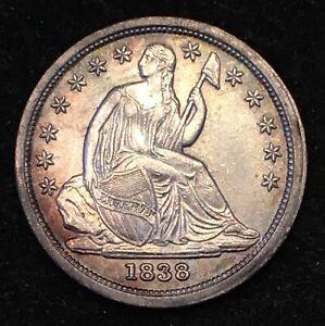 1838-Seated-Liberty-Dime-BU