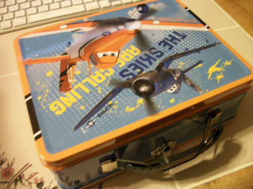 New Disney PLANES * ( CARS )3D LUNCH BOX TIN collectible Children Gift