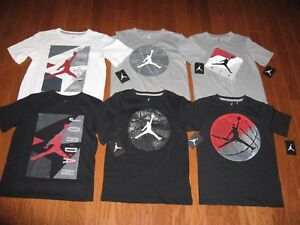 AIR JORDAN SHORT SLEEVE SHIRT BOYS SIZE S/M/L/XL NWT