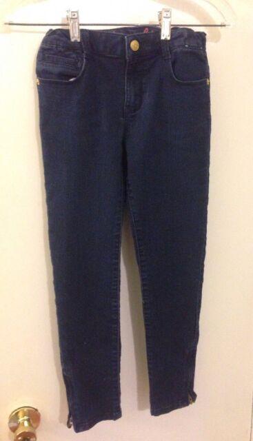 GYMBOREE Super Skinny Jeans Adjustable Waist Cotton Blend Size 10