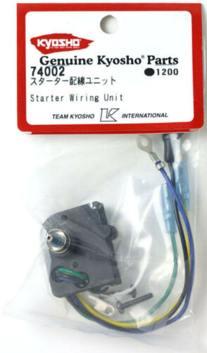Kyosho 74002 Electric Starter Wiring Unit RC Parts R//C Toy Model