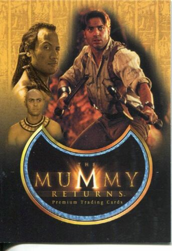 The Mummy Returns Promo Card MR-1