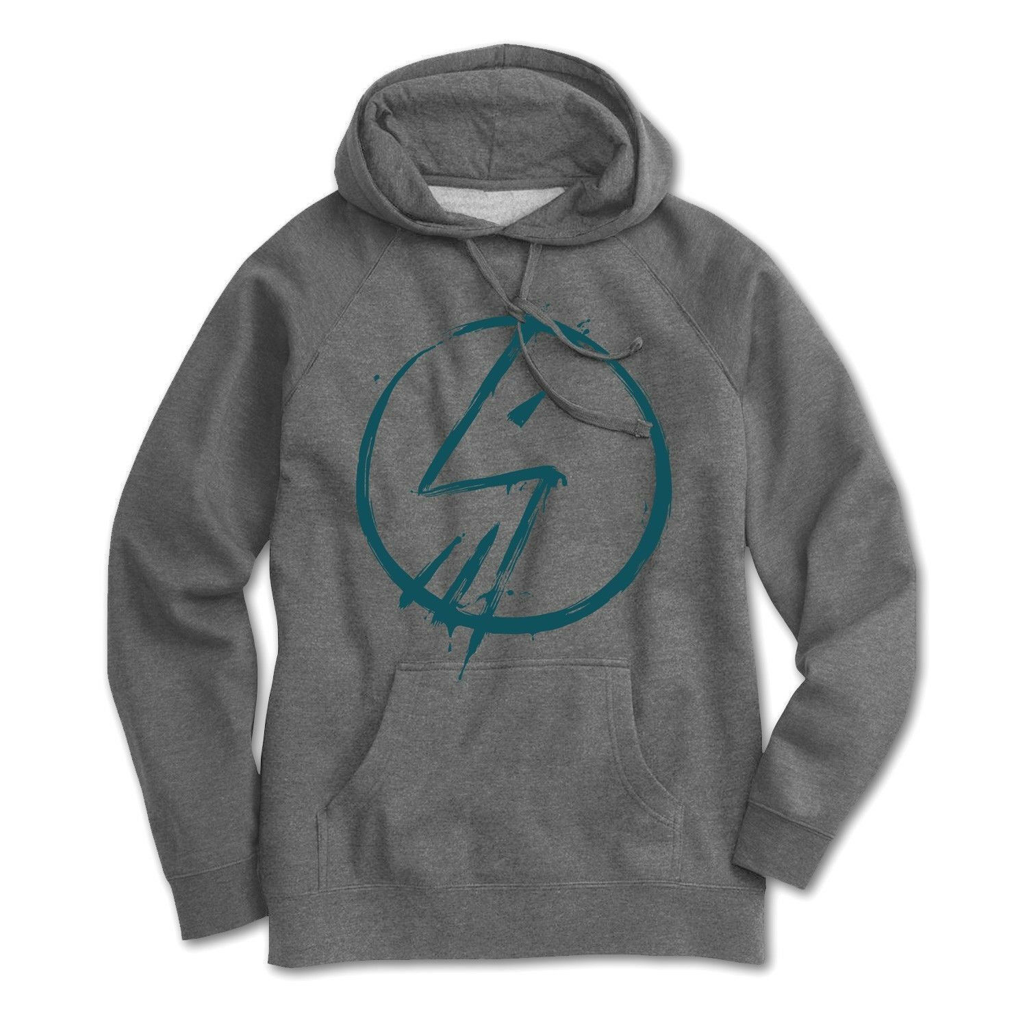 SHADOW CONSPIRACY TAG HOODED PULLOVER SWEATSHIRT HOODIE BMX grau NEW