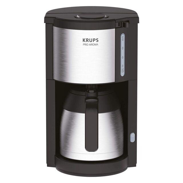 Krups km305d Proaroma Thermo-Filtre MacHine à Café Noir/Inox