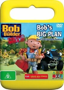 Cc6-Brand-New-Sealed-BOB-THE-BUILDER-Bob-s-Big-Plan-Abc-R4-Dvd