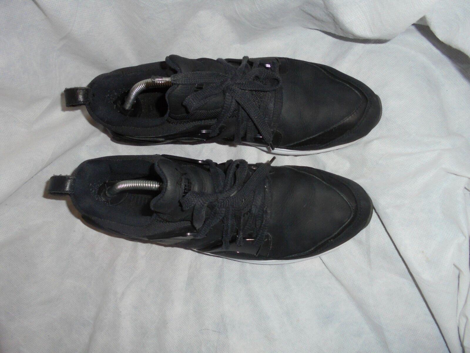 PUMA MEN BLACK LEATHER LACE UP 9 WALKING TRAINERS SIZE UK 9 UP EU 43 VGC 3f37b8