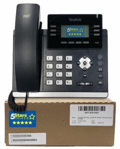 Yealink SIP-T42S Gigabit HD IP Phone - Renewed, 1 Year Warranty