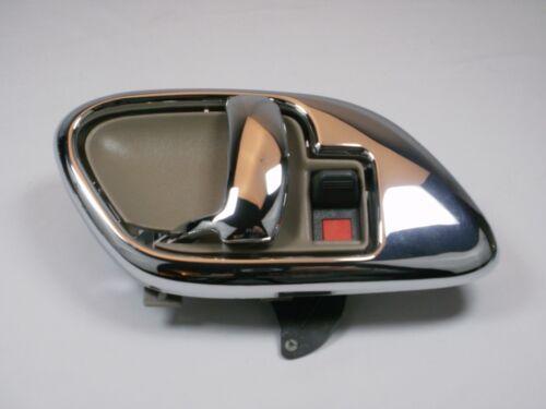 TAN SET Interior Chrome BEZELS /& DOOR HANDLES 1995-1999 SUBURBAN TAHOE YUKON