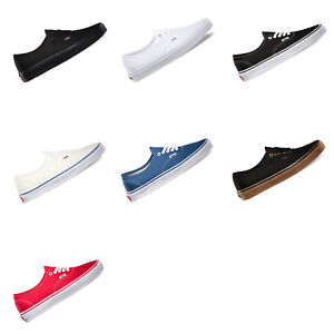 VANS-Authentic-Mens-Canvas-Casual-Shoes-Sneakers-Skateboard-US-Size