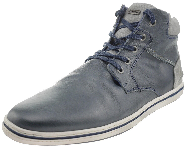 Travelin Newbury Leder Sneaker grey 187381