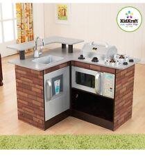 KidKraft Grill Kitchen Chillin' & Grillin' Wooden Pretend Play Children Kids New