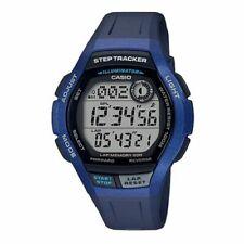 Casio Ws2000h-2av Step Tracker 100 Meter WR Blue Resin 5 Alarms 200 Lap