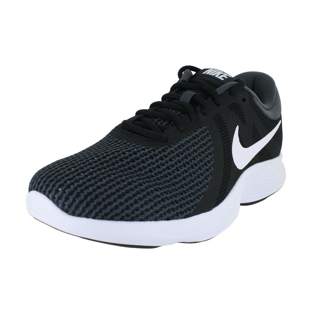 NIKE NIKE REVOLUTION 4 BLACK US WHITE ANTHRACITE 908988-001 MENS US BLACK SIZES 4191f1