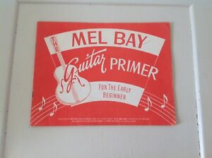 Adroit Mel Bay Guitar Primer For Beginners-afficher Le Titre D'origine