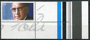 Bund 1963 L postfrisch Abart mit Leerfeld + Eckrand Mi. 250 Euro Farbstreifen