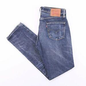 Vintage-Levi-039-s-511-Slim-Straight-Fit-MNE-039-s-Blue-Jeans-w34-l34