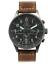 Orologio-Uomo-Militare-Vintage-Cronografo-Sportivo-Acciaio-Subacqueo-Quarzo-MEC miniatura 1