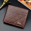 Fashion-Men-039-s-deux-volets-en-cuir-portefeuille-ID-carte-de-credit-Titulaire-Portefeuille-Sac-a miniature 20