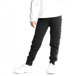 Champion Kids Girls Rib Cuff Pants Athletic Casual Fashion Black 404270-KK001
