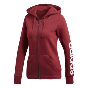 Détails sur Adidas Femme Capuche Entraînement Essentials Linéaire Complet Zip Sport CZ5721