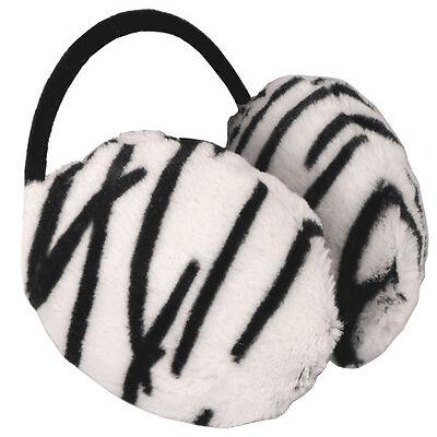 Unisex Animal Print  Ear muffs Earmuffs Ear Warmers Tiger,Leopard Free P&P IN UK