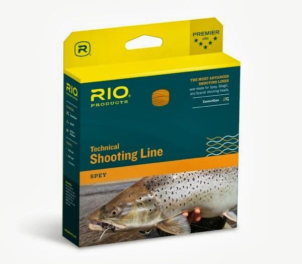 RIO GRIPSHOOTER 50 LB SPEY 15 FT COATED 100 FT HARD NYLON SHOOTING FLY LINE