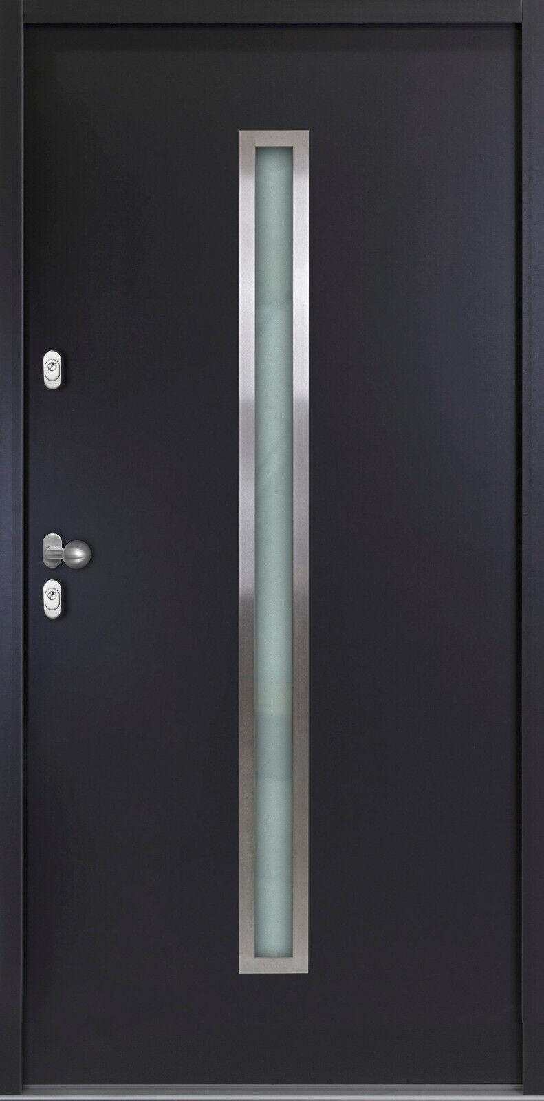 Aluminium Haustür Haustüren Aktion Nebeneingangstüren AT501