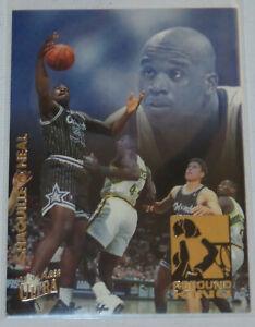 1993-94-Shaquille-O-039-Neal-NBA-Fleer-Ultra-Rebound-King-Insert-Card-9-of-10-NM