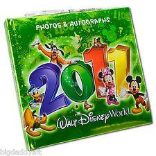 New Walt Disney World 2011 Official Autograph Book Photo Album & Gel Pen