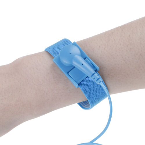 Anti Static Bracelet Electrostatic ESD Discharge Cable Reusable/'Wrist Band SRC$T