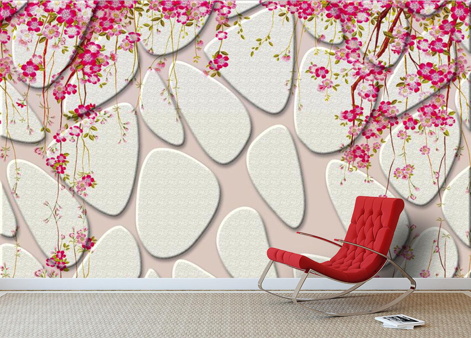 3D Blaumen Felsen Wand 7993 Tapete Wandgemälde Tapeten Bild Bild Bild Familie DE Kyra | Authentische Garantie  | Speichern  | Rabatt  e95d4a