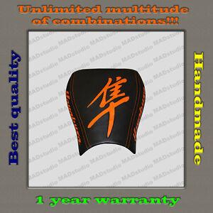 CUSTOM-Design-Front-Seat-Cover-Suzuki-Hayabusa-99-07-black-orange-001