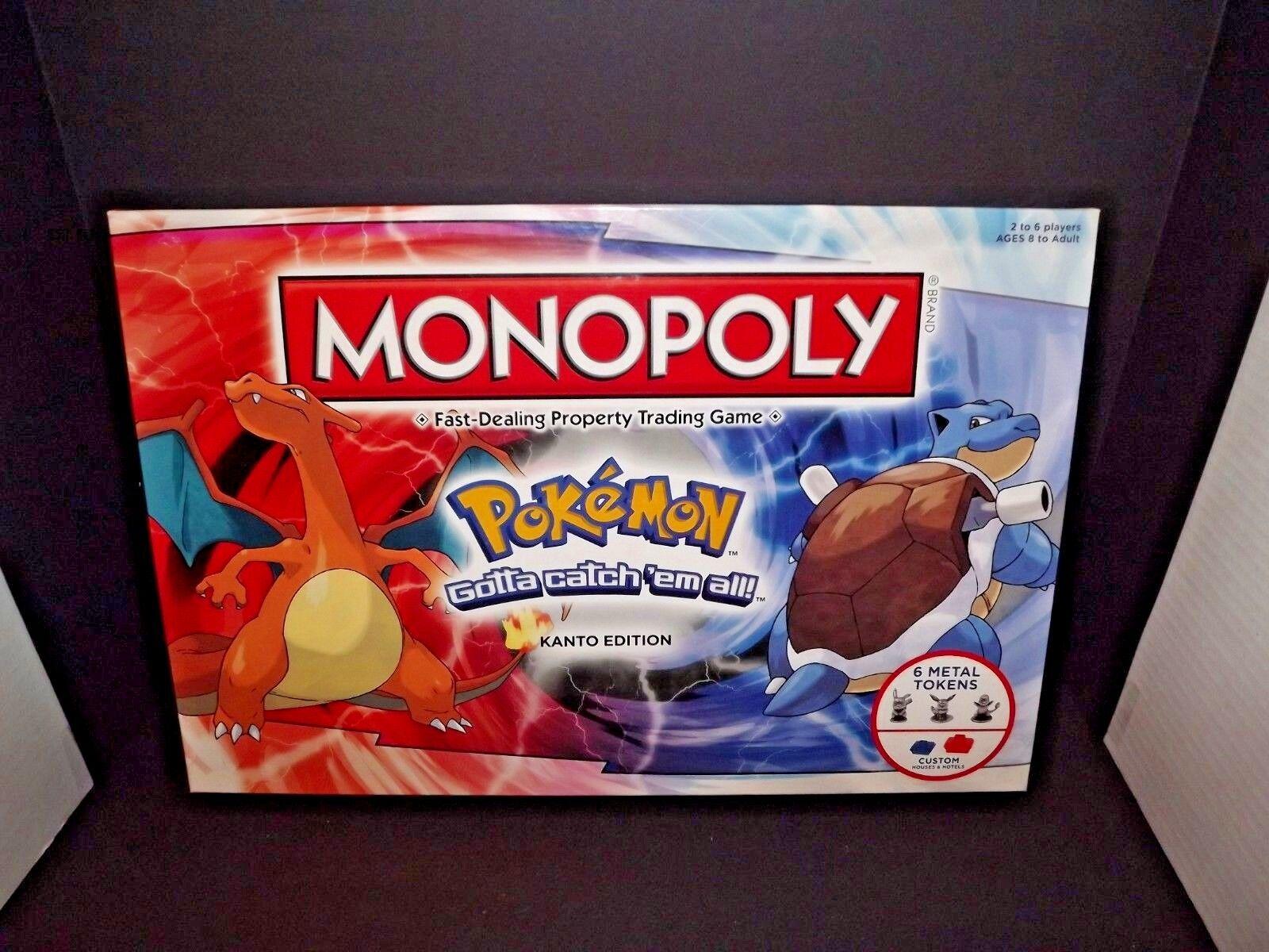 Monopoly Pokemon Kanto Edition 2014 Misprint Money Rare Rare Rare HTF Hasbro Used (m) 5a9ca3