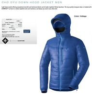 Dynafit Cho Oyu Down Insulator Blue Mens Xs Winter Ski Jacket 2016 Msrp$320