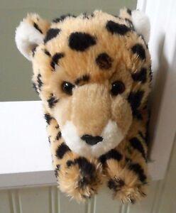 Cheetah Leopard Cat Plush Stuffed Toys R Us Animal Alley 16 Ebay