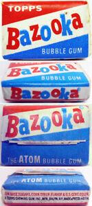 1960-039-s-Topps-Bazooka-Atom-Gum-w-Comic-Unopened-one-piece