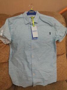 f4449325b86d Baker by Ted Baker - Boys Geo Dot SS Shirt.AQUA COLOUR.RRP £20-22 ...