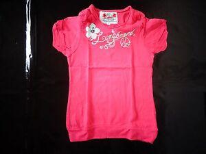 tee-shirt-fuschia-8-ans-LONGBOARD-comme-NEUF-jamais-porte-juste-lave