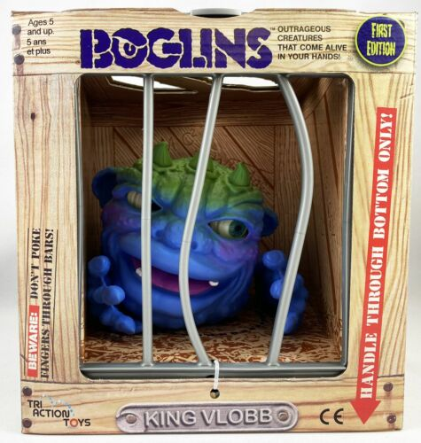 Boglin King Vlobb Tri Action Toys Boglins