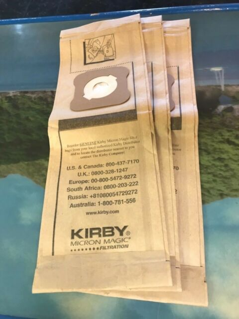 Kirby Micron Magic Vacuum Bags G3 G4 G5 G6 Sentria
