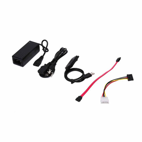 """SATA IDE Drive to USB 2.0 Adapter Converter Cable for 2.5//3.5/"""" HD Hard Fine EL"""