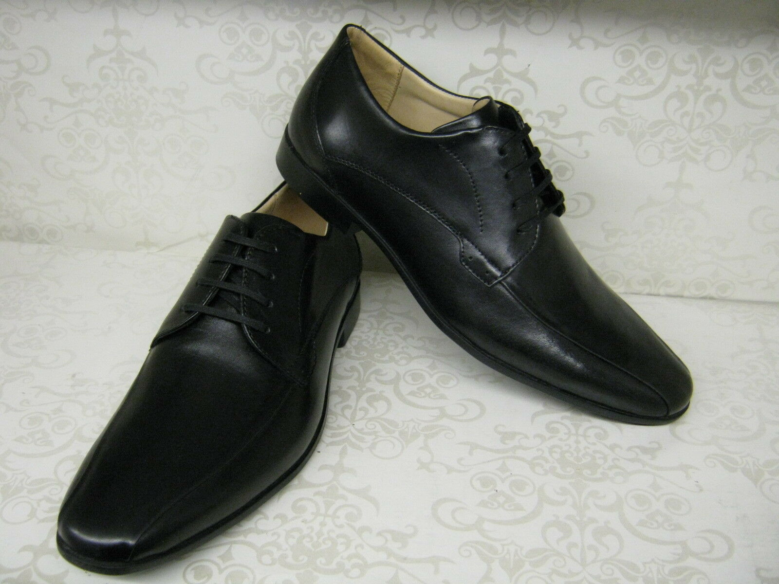 Mens Anatomic & Co Tapaua 111106 Black Leather Smart Lace Up Shoes
