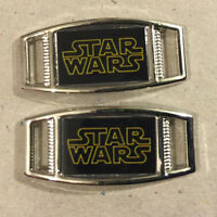 Pair Of Star Wars Shoelace Paracord Bracelet Charms