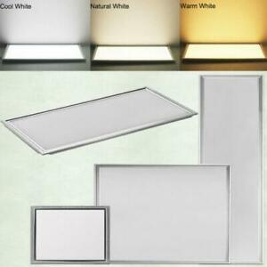 Details About 1x4 2x2 2x4 Ft 64w 12w Led Troffer Panel Light Recessed Dropped Ceiling Fixture