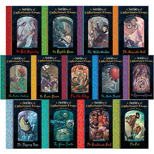 A series of unfortunate events by lemony snicket 1 13 book for Bureau 13 book series