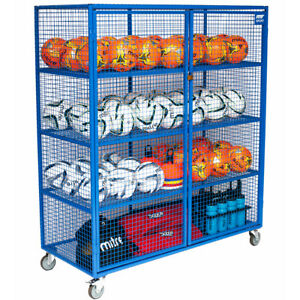Charmant Details About Lockable Sports Equipment Ball Storage Cabinet For Schools