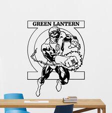 Green Lantern Wall Decal DC Comic Superheroes Vinyl Sticker Decor Mural 114zzz