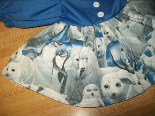 "DRESS POLAR ANIMALS ARCTIC PENGUIN SKIRT for 16-17/"" CPK Cabbage Patch Kids"