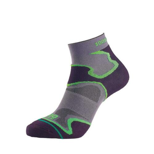 1000 Mile FUSION Anklet Fitness Socks Sports Padded Double Layer Anti blister